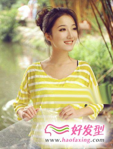 2012最新女生发型   清纯干净