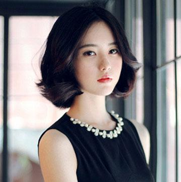 女生可爱短发 柔美短发图片 女生短发图片1