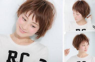 清爽女生短发 短发女生图片 日系短发发型17