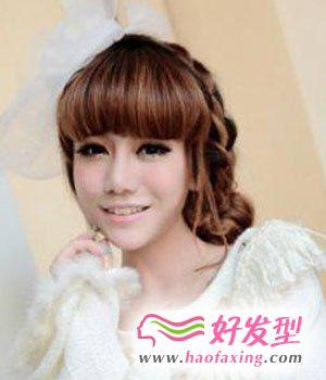 韩式中长发型 刮起甜美风潮