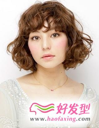 5款韩国短发蛋卷头图片推荐 让你瞬间变身萌妹子