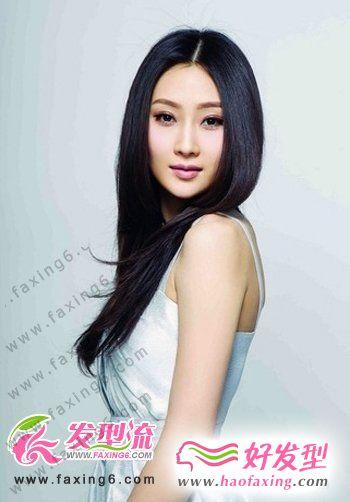 最新女生时尚刘海发型   魅力百分百