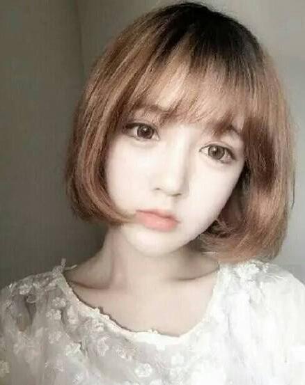 夏天最新的中短发发型图片大全01