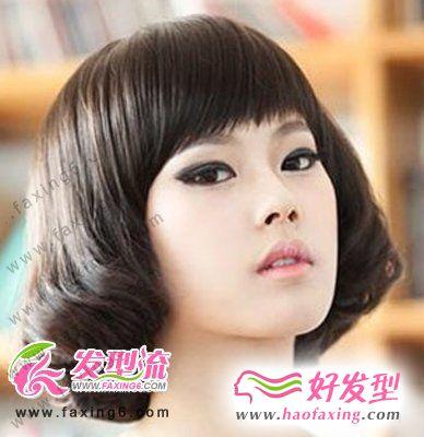 款最新韩式女生发型