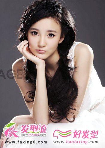 刘雨欣发型欣赏   尽显性感魅惑