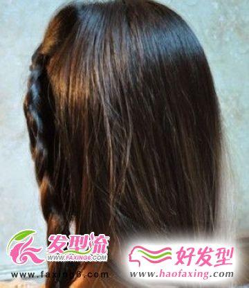 复古韩式盘发发型DIY