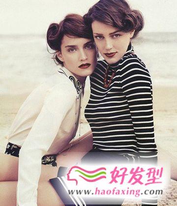 欧美人气短发设计 个性潮流