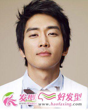 韩国男明星发型
