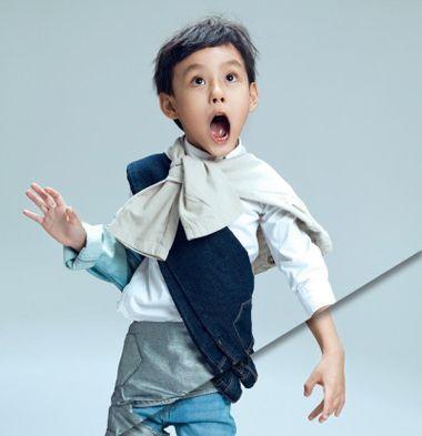 清新男童发型 韩国小男孩发型 小男孩发型推荐3