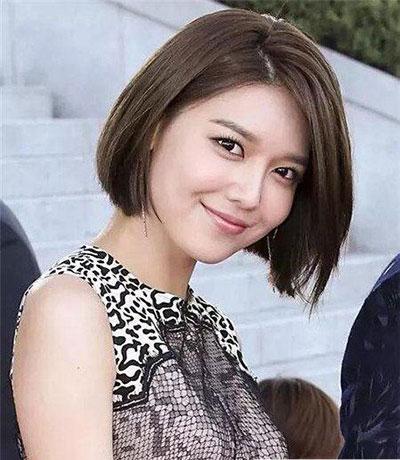 短发女生发型 修颜短发女生 短发控最爱4