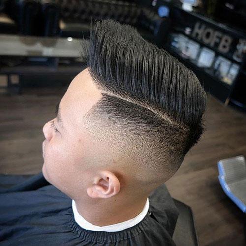 男生简单发型 男生渐变发型 简单渐变发型男1