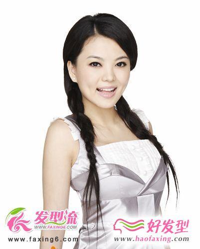 太平公主秘史 李湘圆脸适合的发型