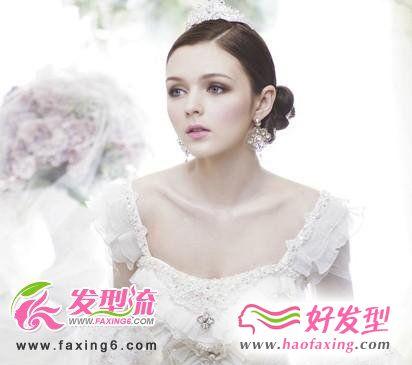 2012最新新娘发型图片 任你挑选