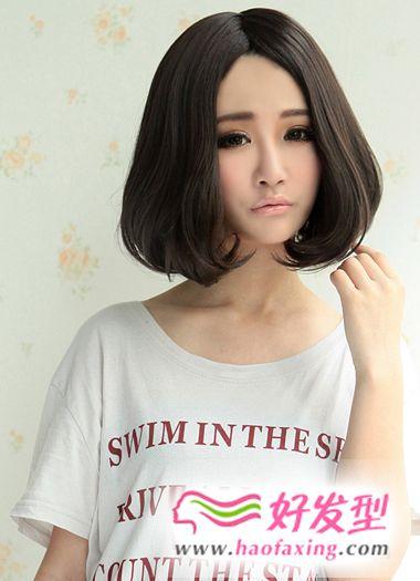 个性美女的潮流发型设计图片