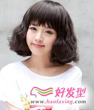 5款圆脸适合的短发图片推荐 让发型轻松掩饰脸型的不足