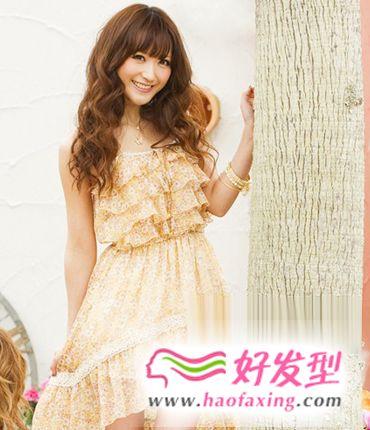 2013最新清新发型女生发型