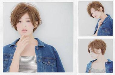 清爽女生短发 短发女生图片 日系短发发型7