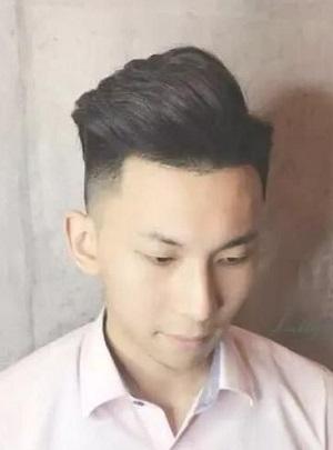 男生干净清爽短发发型
