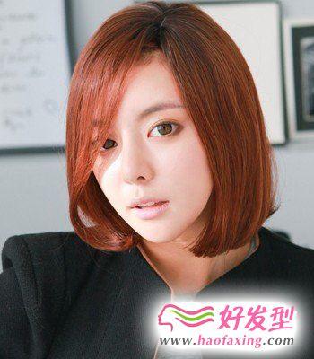 韩式染发发型 演绎动心魅力