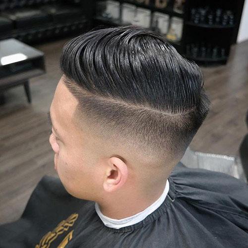 男生简单发型 男生渐变发型 简单渐变发型男9