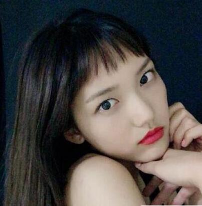 2017女大学生适合的流行韩式短刘海发型图片01