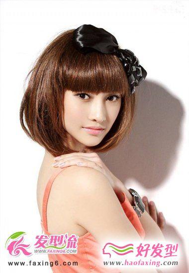2012年必须尝试的潮流bobo发型