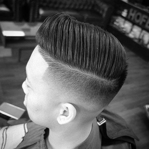 男生简单发型 男生渐变发型 简单渐变发型男5
