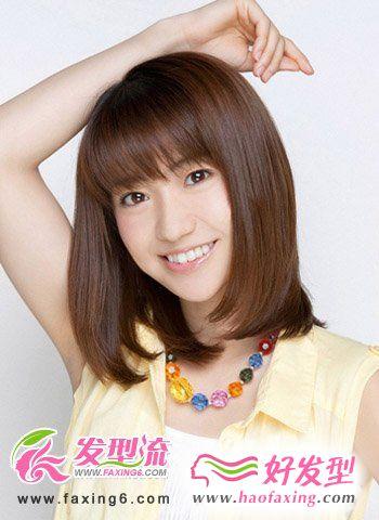 齐刘海女生发型