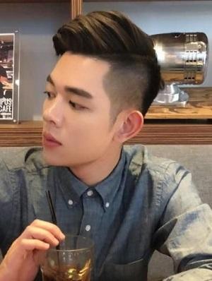 男士清爽短发发型图片