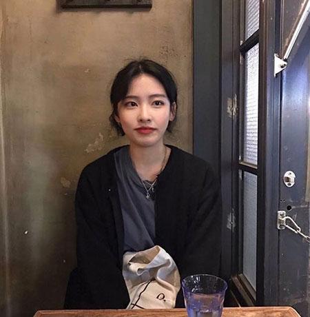 韩式女生发型 女生显脸小发型 年轻女生发型1