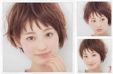 清爽女生短发 短发女生图片 日系短发发型9