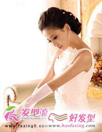 娇美动人 时尚新娘发型图集欣赏