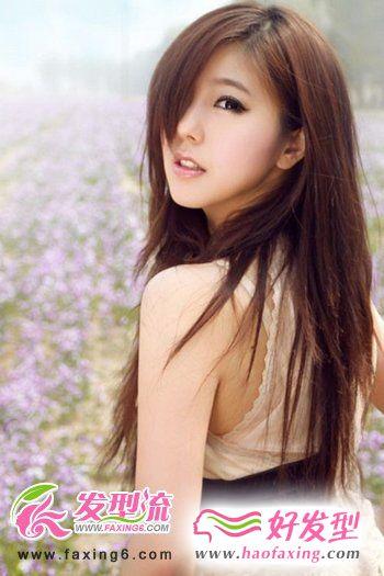 最新韩式发型 唯美韩式直发发型