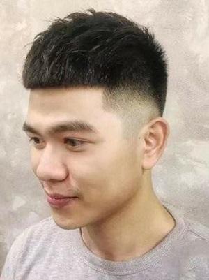 超帅男生发型短发图片