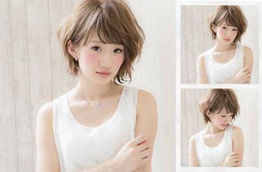 清爽女生短发 短发女生图片 日系短发发型5