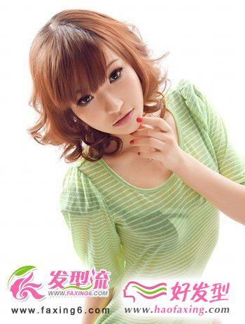 2012夏季最新卷发发型  浪漫唯美