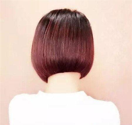 短发斜后切发型 今年流行发型 不规则沙宣发型6