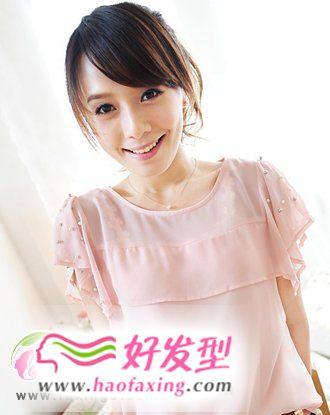 今年流行的刘海发型  人气大热刘海发型图片
