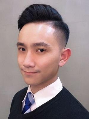 潮男男士时髦的发型图片