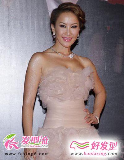 香港金像奖红毯众女星发型