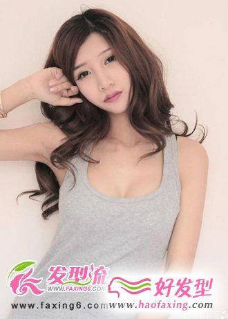 中长发发型 优雅女人发型