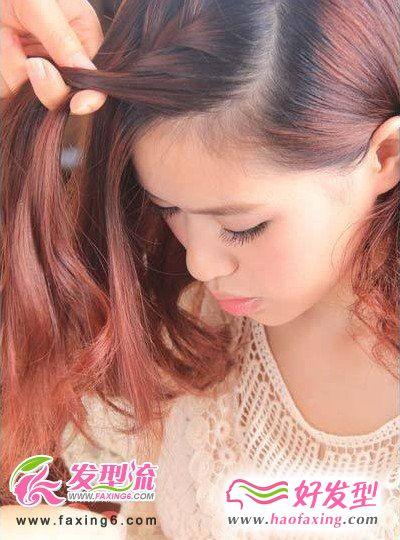 韩式编发发型diy 玩转整个初夏