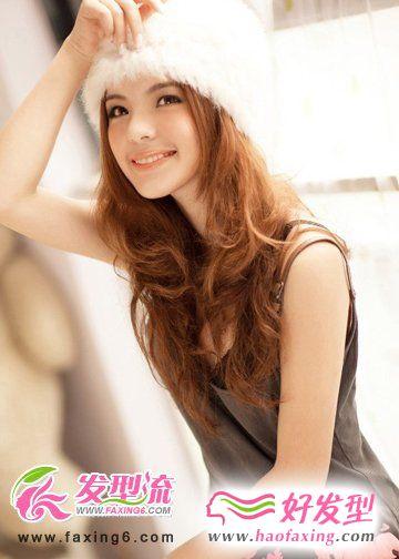 小资女人烫发发型 提升魅力值