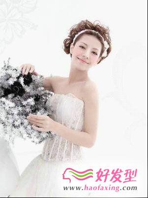 世界末日新娘发型  爱似繁花盛开