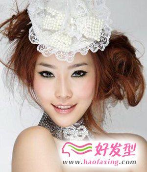璀璨新娘发饰 造就完美新娘