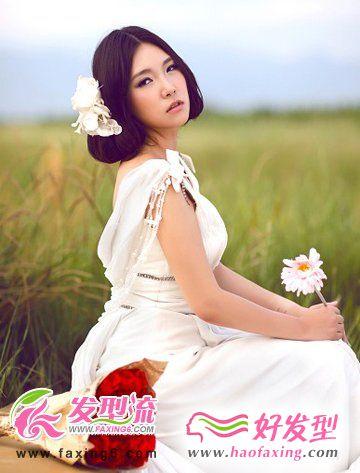 韩式唯美新娘发型 绽放华丽魅力