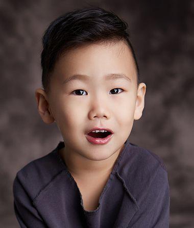 清新男童发型 韩国小男孩发型 小男孩发型推荐2